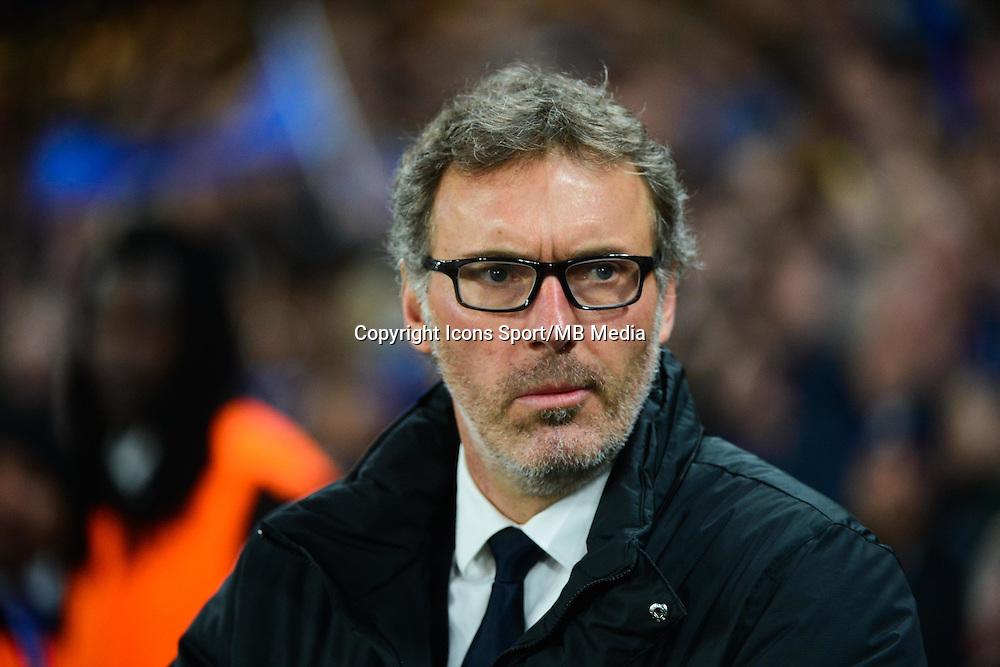 Laurent BLANC - 11.03.2015 - Chelsea / Paris Saint Germain - 1/8Finale retour Champions League<br /> Photo : Dave Winter / Icon Sport