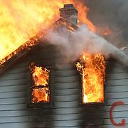 Verona Fire Dept. House Burn