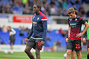 Bolton Wanderers forward Clayton Donaldson (8) warming up before the EFL Sky Bet Championship match between Ipswich Town and Bolton Wanderers at Portman Road, Ipswich, England on 22 September 2018.