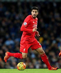 Emre Can of Liverpool - Mandatory byline: Matt McNulty/JMP - 07966 386802 - 21/11/2015 - FOOTBALL - Etihad Stadium - Manchester, England - Manchester City v Liverpool - Barclays Premier League