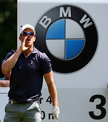 May 25, 2017 - Virginia Water, United Kingdom - Magnus A Carlsson OF sweduring 1st Round for the 2017 BMW PGA Championship on the west Course at Wentworth on May 25, 2017 in Virginia Water,England  (Credit Image: © Kieran Galvin/NurPhoto via ZUMA Press)