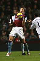 Photo: Mark Stephenson/Sportsbeat Images.<br /> Aston Villa v Manchester City. The FA Barclays Premiership. 22/12/2007.Villa's John Carew