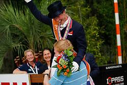Bechtolsheimer LaurA (GBR)<br /> Bronze Medal Grand Prix Special<br /> European Championships Dressage - Rotterdam 2011<br /> © Dirk Caremans