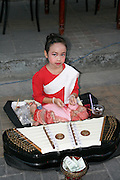 Thailand young Street performer
