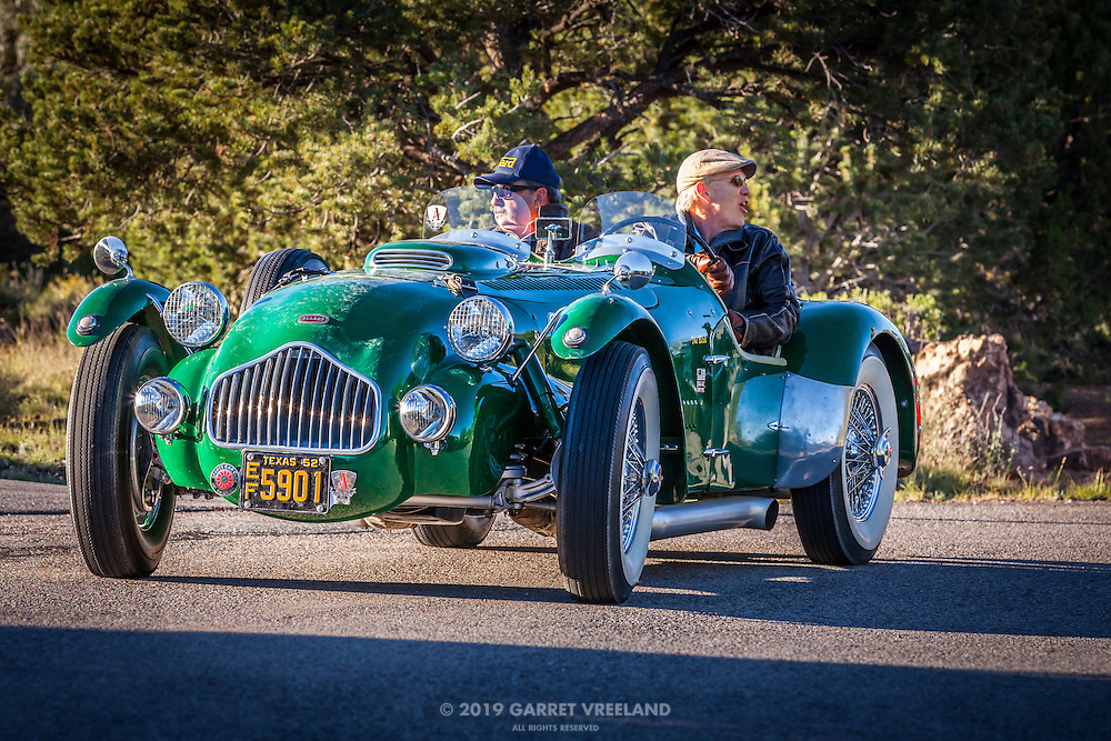 Participants arrive for the Mountain Tour at Arroyo Vino, part of the 2013 Santa Fe Concorso.