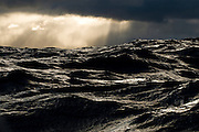Rough seas during a yacht delivery from Cape Town, South Africa to Ft. Lauderdale, Florida.