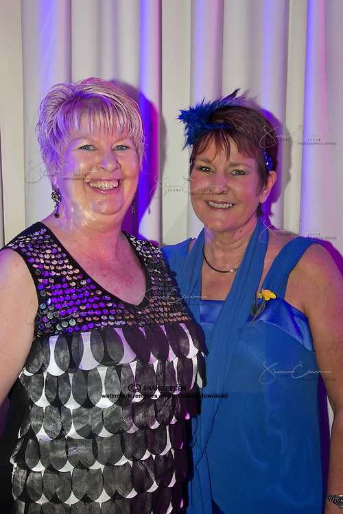 Bev Jenkins & Lou Croser. Cancer Council Ball 2011. Photo Shane Eecen