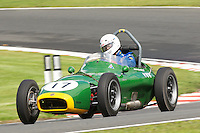 HSCC Gold Cup Oulton Park, Cheshire, United Kingdom.  28th-29th August 2011.  Race 2 HSCC/HFJRA JMW Front Engined Series. Historic Formula Junior Race A (Class A - B). 17 Vernon Williamson Scorpion. World Copyright: Peter Taylor/PSP. Copy of publication required for printed pictures. Every used picture is fee-liable.