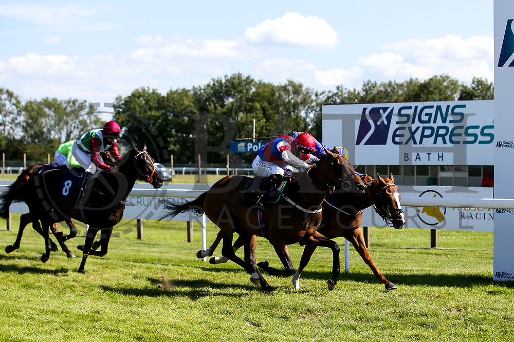Essgee Nics ridden by William Carson trained by Robyn Brisland wins the Signs Express Classified Stakes - Mandatory by-line: Robbie Stephenson/JMP - 22/07/2020 - HORSE RACING - Bath Racecoure - Bath, England - Bath Races