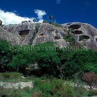 Formacao Rochosa, Bage, Rio Grande do Sul, Brasil, 10/07/2002 foto de Ze Paiva/Vista Imagens