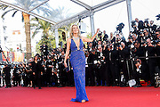 Sharon Stone attends the 'Behind The Candelabra' premiere during The 66th Annual Cannes Film Festival at Theatre Lumiere on May 21, 2013 in Cannes, France