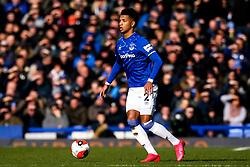 Mason Holgate of Everton - Mandatory by-line: Robbie Stephenson/JMP - 01/03/2020 - FOOTBALL - Goodison Park - Liverpool, England - Everton v Manchester United - Premier League