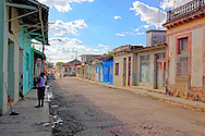 Street in Guines, Mayabeque, Cuba.
