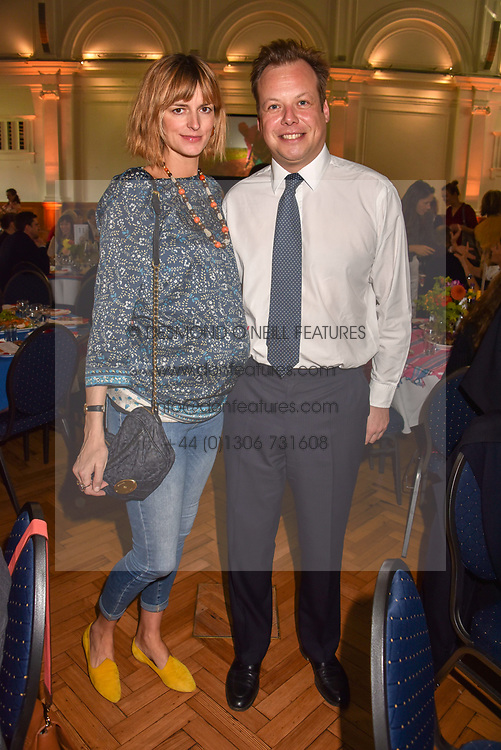 Jacquetta Wheeler and her husband Jamie Allsopp at the ASAP VIP lunch (African Solutions To African Problems) held at the RHS Lindley Hall, 80 Vincent Square, London, England. 10 October 2018.