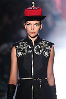 Arizona Muse walks down runway for F2012 Jason Wu's collection in Mercedes Benz fashion week in New York on Feb 10, 2012 NYC