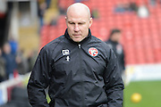 Walsalls manager Jon Whitney before the EFL Sky Bet League 1 match between Walsall and Peterborough United at the Banks's Stadium, Walsall, England on 18 February 2017. Photo by Jacqueline Theodosi.