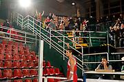 DESCRIZIONE : Avellino Lega A 2014-15 Sidigas Avellino Grissin Bon Reggio Emilia<br /> GIOCATORE : Andrea Cinciarini tifosi Grissin Bon Reggio Emilia<br /> CATEGORIA : esultanza tifosi<br /> SQUADRA : Grissin Bon Reggio Emilia<br /> EVENTO : Campionato Lega A 2014-2015<br /> GARA : Sidigas Avellino Grissin Bon Reggio Emilia<br /> DATA : 15/11/2014<br /> SPORT : Pallacanestro <br /> AUTORE : Agenzia Ciamillo-Castoria/A. De Lise<br /> Galleria : Lega Basket A 2014-2015 <br /> Fotonotizia : Avellino Lega A 2014-15 Sidigas Avellino Grissin Bon Reggio Emilia
