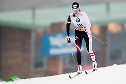 Teresa Stadlober of Austria during Womens 5km Classic individual start of the Tour de Ski 2014 of the FIS cross country World cup on January 4th, 2014 in Cross Country Centre Lago di Tesero, Val di Fiemme, Italy. (Photo by Urban Urbanc / Sportida)