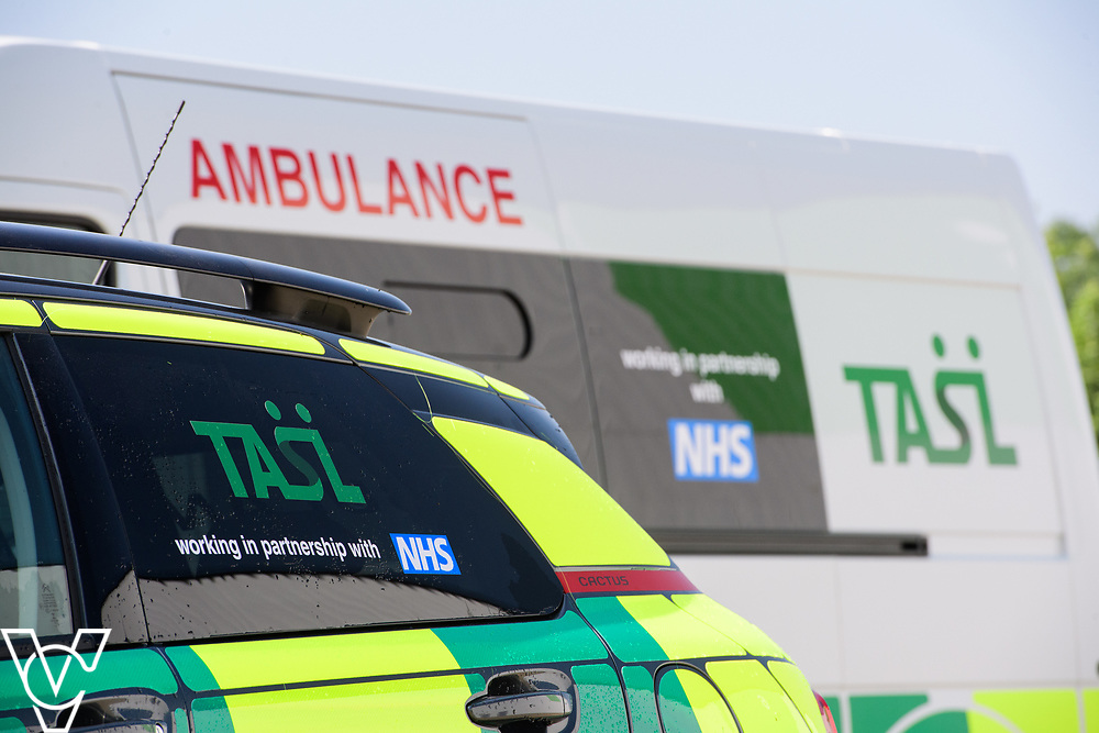 Thames Ambulance Service Ltd - Grimsby Depot, North East Lincolnshire<br /> <br /> Picture: Chris Vaughan Photography<br /> Date: May 25, 2017