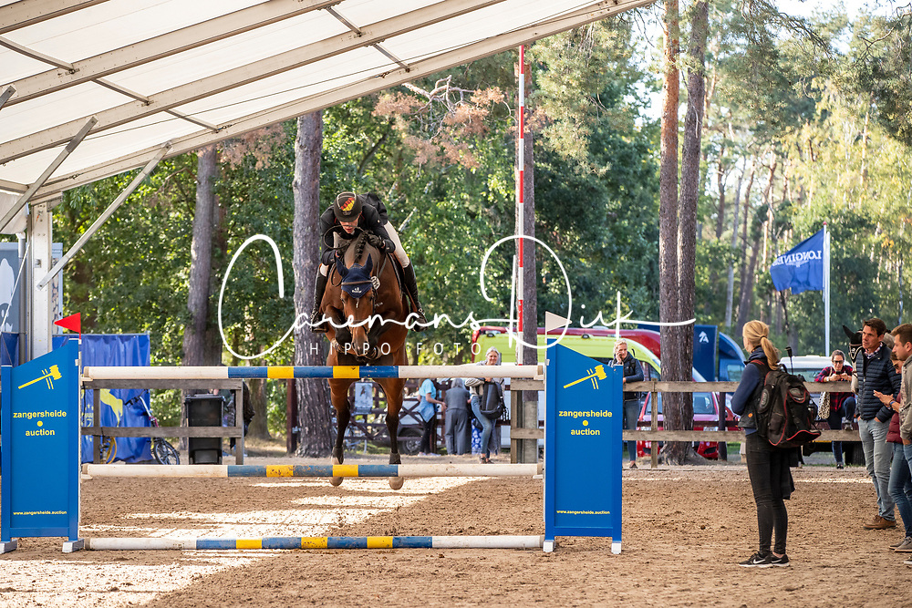 Ahlmann Hannes, GER, Luke Lemon<br /> FEI WBFSH Jumping World Breeding Championship for young horses Zangersheide Lanaken 2019<br /> © Hippo Foto - Dirk Caremans<br /> 20/09/2019