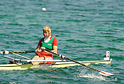 Munich, GERMANY, BLR W1X, Ekaterina KARSTEN-KHODOTOVITCH, during the FISA World Cup at the Munich Olympic Rowing Course, Thur's.  08.05.2008  [Mandatory Credit Peter Spurrier/ Intersport Images] Rowing Course, Olympic Regatta Rowing Course, Munich, GERMANY