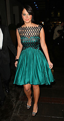 X Factor judge Tulisa Contostavlos heads to The Pride Of Britain Awards in London, UK. 29/10/2012<br />BYLINE MUST READ : JAMESY/GOTCHA IMAGES<br /><br />Copyright by © Gotcha Images Ltd. All rights reserved.<br />Usage of this image is conditional upon the acceptance <br />of Gotcha Images Ltd, terms and conditions available at<br />www.gotchaimages.com