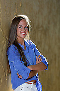 Senior photos of Katie Glenn, Class of '13.