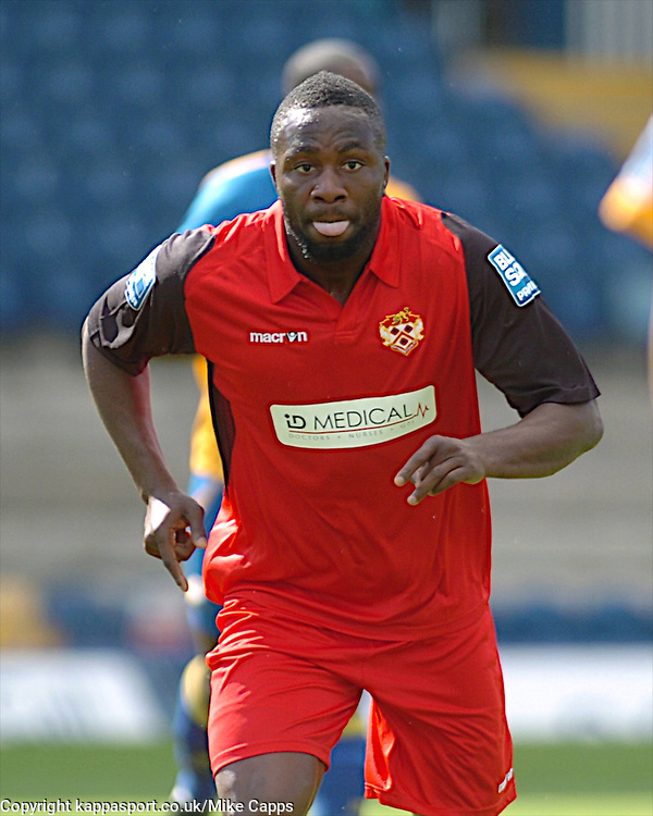 MOSES ASHIKODI, KETTERING TOWN, Mansfield Town v Kettering Town, Blue Square Premier Field Mill, Saturday 27th August 2011