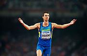 BEIJING 2015-08-30<br /> VM FRIIDROTT BEIJING NATIONAL STADIUM<br /> Bohdan Bondarenko, h&ouml;jdhopp