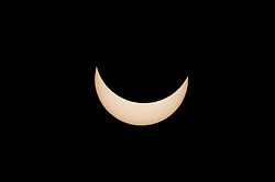 20.03.2015, Nürnberg, GER, partielle Sonnenfinsternis, im Bild Teilweise Verdeckung der Sonne durch den Mond // The Solar eclipse occurs every few years, but next year will be on 2022. Maximum coverage of the solar disk will be between 50 and 60 percent. Nürnberg, Germany on 2015/03/20. EXPA Pictures © 2015, PhotoCredit: EXPA/ Eibner-Pressefoto/ Merz<br /> <br /> *****ATTENTION - OUT of GER*****