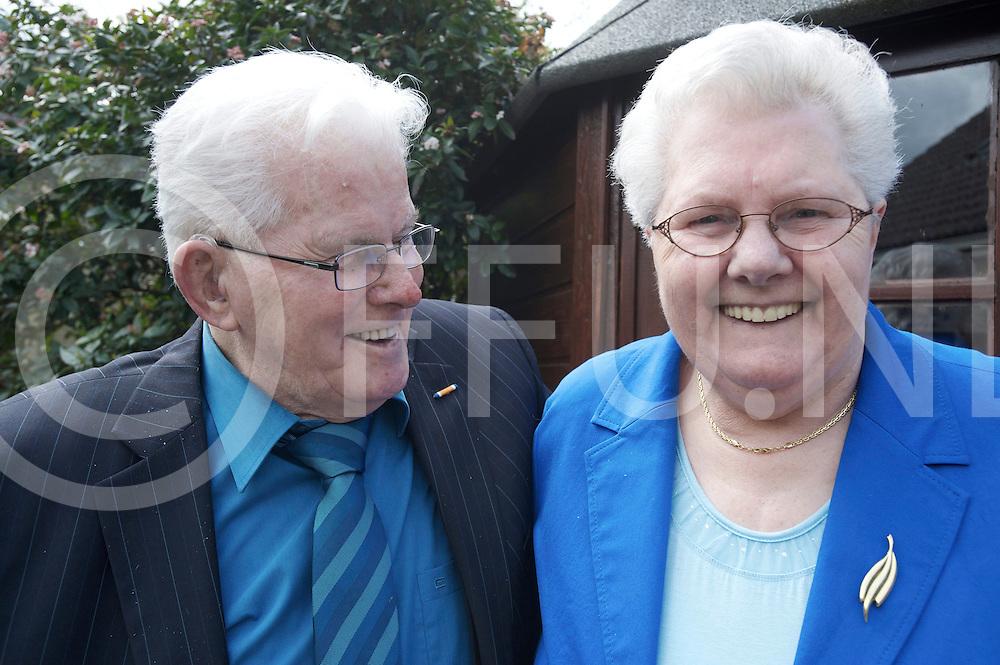 HASSELT - Klaas Wursten en Jennigje Bergman zijn 60 jaar gehuwd...FFU PRESS AGENCY COPYRIGHT FRANK UIJLENBROEK.