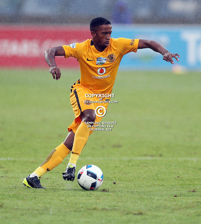 William Twala of Kaizer Chiefs during the Telkom Knockout quarterfinal  match between Kaizer Chiefs and Free State Stars at the Moses Mabhida Stadium , Durban, South Africa.6 November 2016 - (Photo by Steve Haag Kaizer Chiefs)