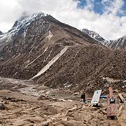 NEPAL, Everest Region, Lambara. May 7th, 2012. Trek to Machhermo.