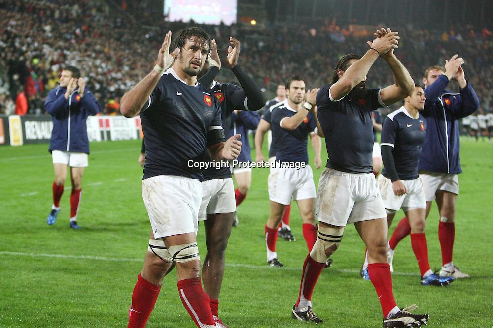 Rugby : France / Fidji - Test Match Tournee d Automne - 13.11.2010 - Julien Pierre (France) *** Local Caption *** 00042416