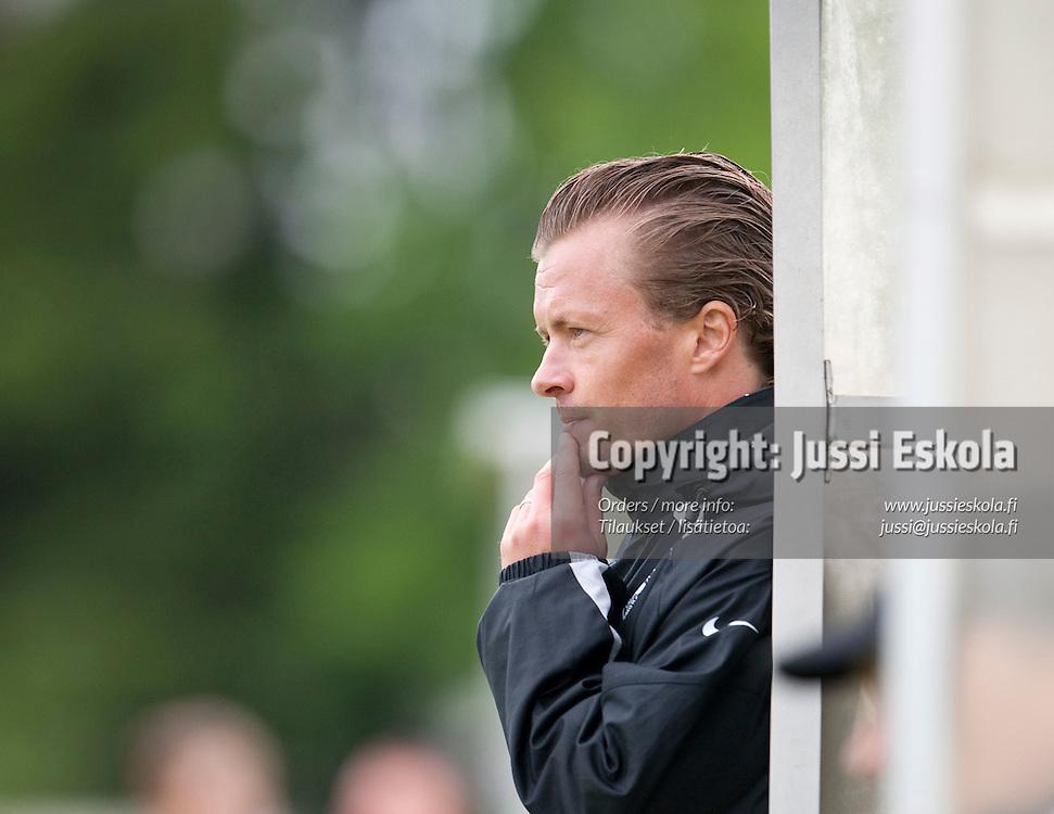 Mitri Pakkanen. TiPS - FC Sport -39. Naisten Liiga. Tikkurila 29.5.2010. Photo: Jussi Eskola
