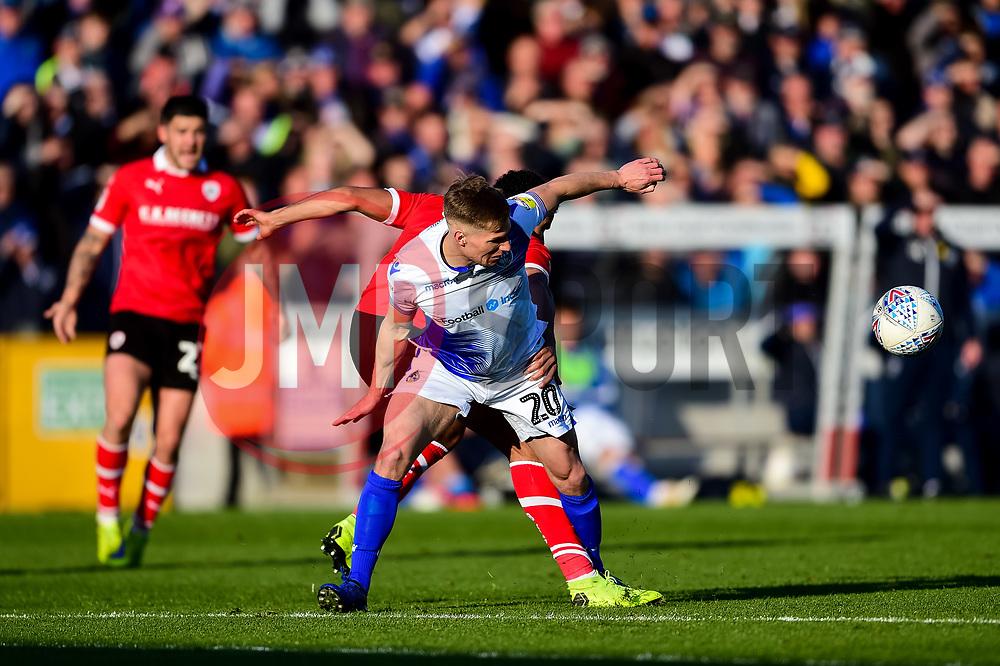Gavin Reilly of Bristol Rovers - Mandatory by-line: Ryan Hiscott/JMP - 04/05/2019 - FOOTBALL - Memorial Stadium - Bristol, England - Bristol Rovers v Barnsley - Sky Bet League One
