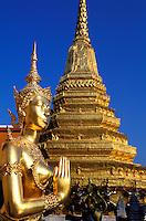 Thailande - <br /> Bangkok<br /> Grand Palais - Wat Phra Kaeo