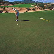 Cabo del Sol Golf course. San Jose del Cabo, Mexico.