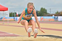 04/08/2017; Jordaan, Alissa, F47, AUS at 2017 World Para Athletics Junior Championships, Nottwil, Switzerland