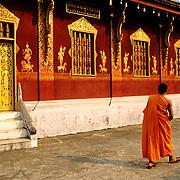 Vat Sensoukaram buhdist temple.Luang Prabang.Laos.