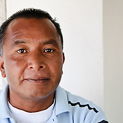 A Guatemalan man of Mayan heritage in Guatemala City