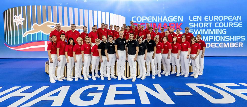 Officials<br /> <br /> Copenhagen 16-12-2017 Royal Arena <br /> LEN European Short Course Swimming <br /> Championships - Campionati Europei nuoto vasca corta<br /> Foto © Giorgio Scala / Deepbluemedia