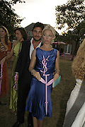 Giorgio Veroni and Tamara Beckwit, The Summer Party sponsored by Yves St. Laurent. Serpentine Gallery. 11 July 2006. . ONE TIME USE ONLY - DO NOT ARCHIVE  © Copyright Photograph by Dafydd Jones 66 Stockwell Park Rd. London SW9 0DA Tel 020 7733 0108 www.dafjones.com