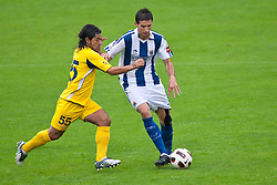 05.08.2010, Dolomitenstadion, Lienz, AUT, Friendly Match, Real Sociedad vs AEL Limassol, im Bild Alexander Albistegi ( Real Sociedad, #21 ). EXPA Pictures © 2010, PhotoCredit: EXPA/ J. Groder / SPORTIDA PHOTO AGENCY