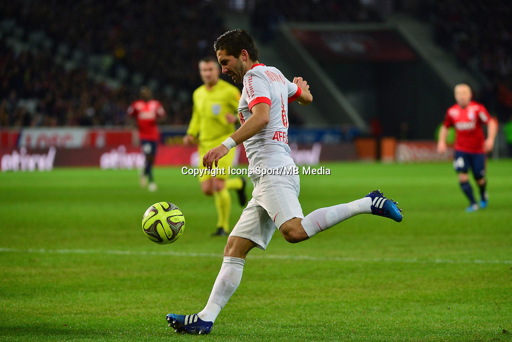 Joao MOUTINHO  - 24.01.2015 - Lille / Monaco - 22eme journee de Ligue1<br />