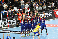 Defense Montpellier - 15.03.2015 - Montpellier / Kielce - 1/8Finale aller Ligue des Champions<br /> Photo : Andre Delon / Icon Sport