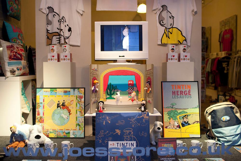 Tintin shop, Nottingham