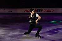 KELOWNA, BC - OCTOBER 24:  Ice Dance competitor Zachary Lagha of Canada performs during the gala of Skate Canada International at Prospera Place on October 24, 2019 in Kelowna, Canada. (Photo by Marissa Baecker/Shoot the Breeze)