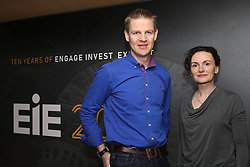 Nigel and Lesley Eccles, who last year left the $1bn fantasy games company FanDuel which they co-founded, were back in Edinburgh for EIE2018, one of the UK's biggest tech investor events. US-based Mr Eccles will speak at the EIE dinner tonight at the National Museum of Scotland 19042018 pic by Terry Murden @edinburghelitemedia