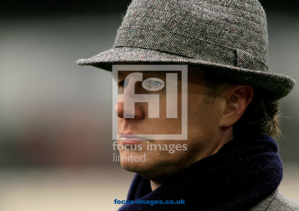 Steve McManaman commentating  before the Barclays Premier League match at KC Stadium, Hull<br /> Picture by Richard Gould/Focus Images Ltd +44 7855 403186<br /> 31/01/2015